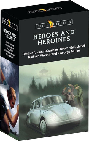 Trailblazer Heroes & Heroines Box Set 5 by Various (9781781916384) Reformers Bookshop