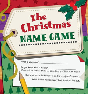 9781784980276-Christmas Name Game, The-Mitchell, Alison