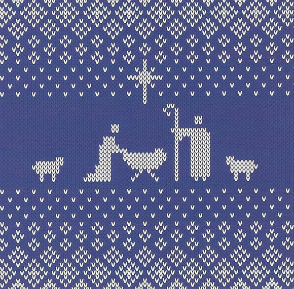 9781784981334-Nativity Christmas Cards (6knitblue)-