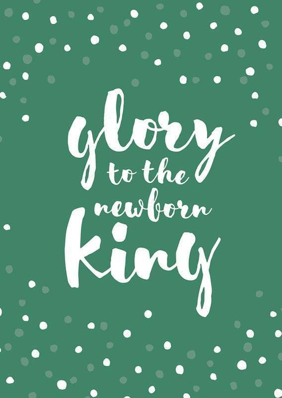 9781784981341-Glory to the Newborn King Christmas Cards (6glory)-