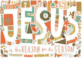 Jesus is the Reason for the Season Christmas Cards (6reason)