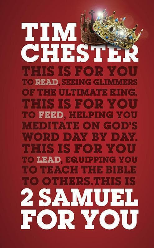 9781784981990-2 Samuel For You-Chester, Tim