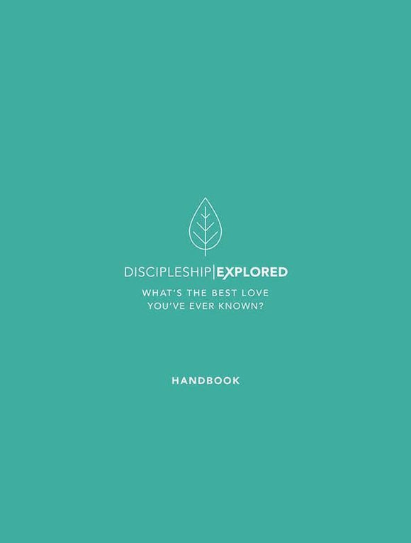 9781784982027-Discipleship Explored Handbook-Cooper, Barry