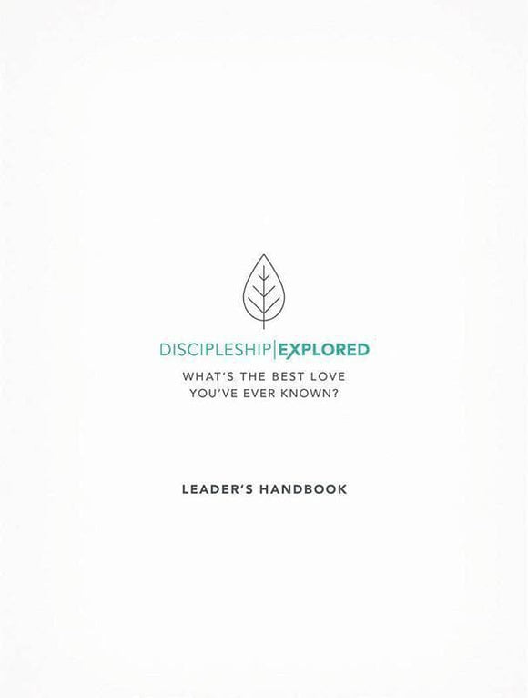 9781784982034-Discipleship Explored Leader's Handbook-Cooper, Barry