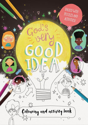 God's Very Good Idea - Colouring and Activity Book by Echeverri, Catalina (9781784982713) Reformers Bookshop