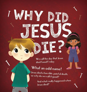 Why Did Jesus Die? (redesign) by Mitchell, Alison (9781784983048) Reformers Bookshop