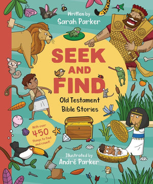 Seek and Find: Old Testament Bible Stories by Parker, Sarah (9781784984748) Reformers Bookshop
