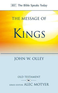 9781844745500-BST Message of Kings-Olley, John W.