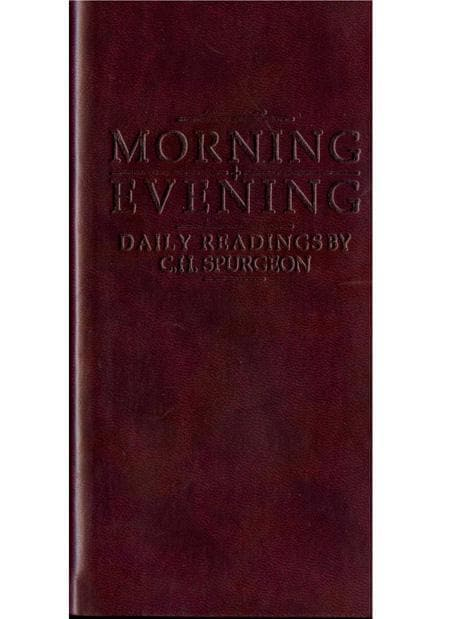 9781845500146-Morning and Evening (Burgundy)-Spurgeon, Charles Haddon