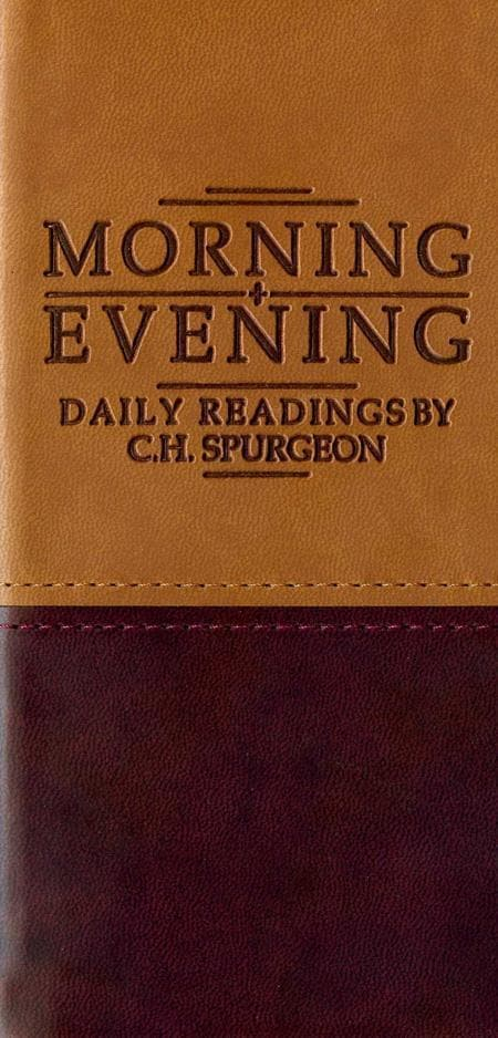 9781845500153-Morning and Evening (Tan/Burundy)-Spurgeon, Charles Haddon
