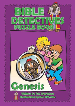 9781845500665-Bible Detectives Puzzle Book: Genesis-Woodman, Ros