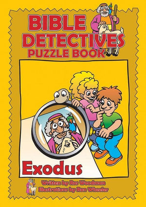 9781845500672-Bible Detectives Puzzle Book: Exodus-Woodman, Ros
