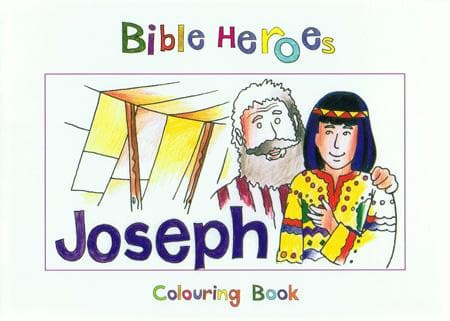 9781845500917-Bible Heroes: Joseph (Colouring Book)-Mackenzie, Carine