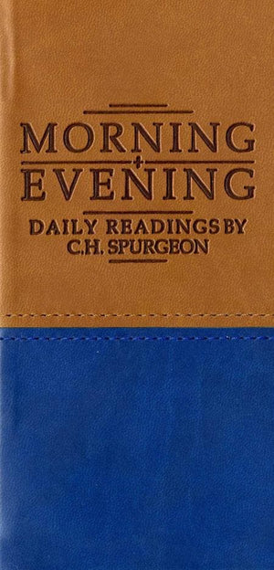 9781845501839-Morning and Evening (Tan/Blue)-Spurgeon, Charles Haddon