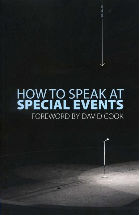 9781845502775-How to Speak at Special Events-Cook, David (Foreword)