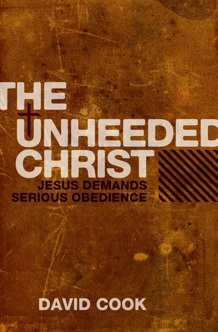 9781845503697-Unheeded Christ, The-Cook, David