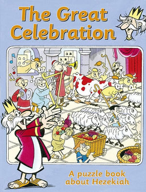 9781845504038-Great Celebration, The: A Puzzle Book about Hezekiah-Woodman, Ros