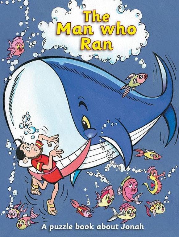 9781845504960-Man Who Ran, The: A Puzzle Book about Jonah-Maclean, Ruth