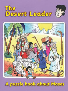 9781845504977-Desert Leader, The: A Puzzle Book about Moses-Maclean, Ruth