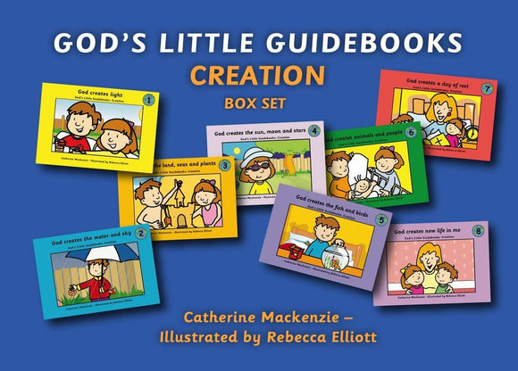 God's Little Guidebooks Creation: 8 Books Box Set