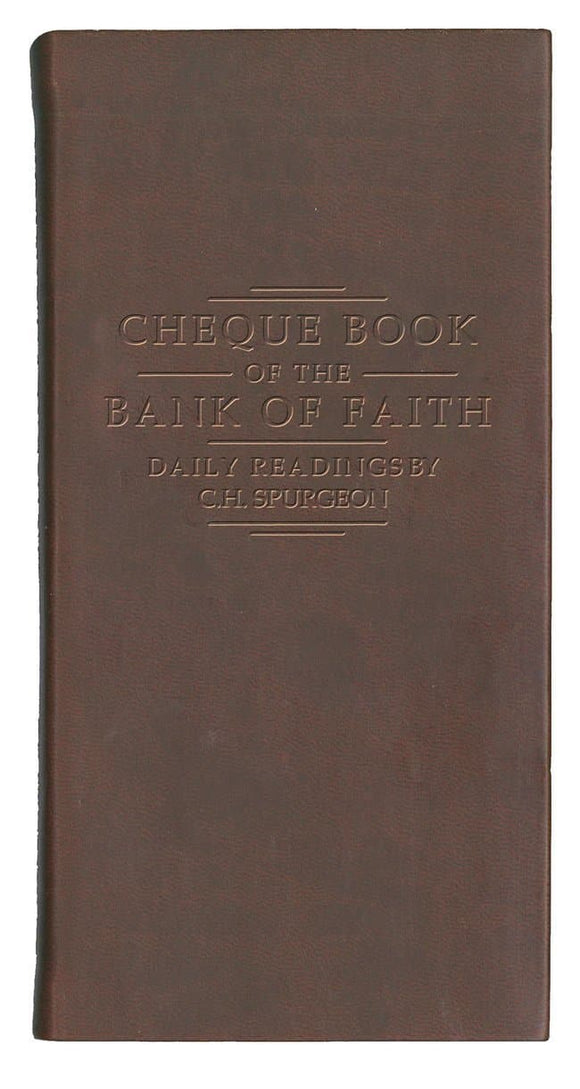 Chequebook of the Bank of Faith (Burgundy)