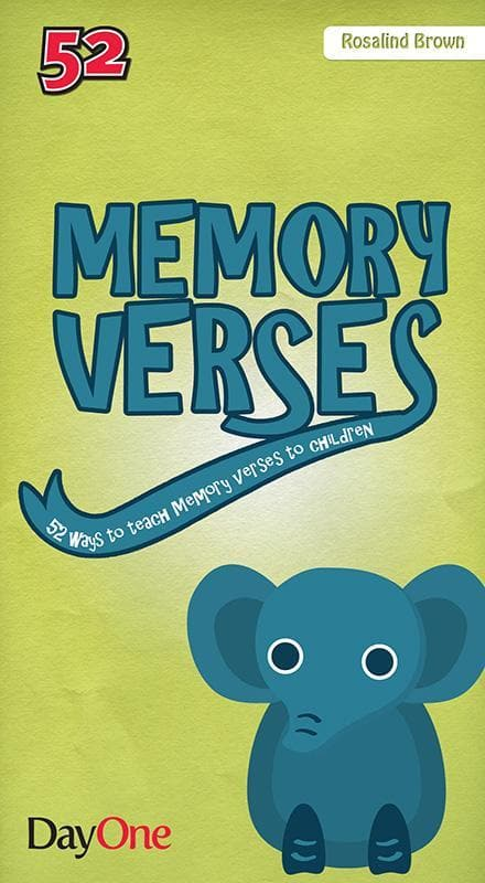 9781846254185-Memory Verses: 52 Ways to Teach Memory Verses to Children-Brown, Rosalind
