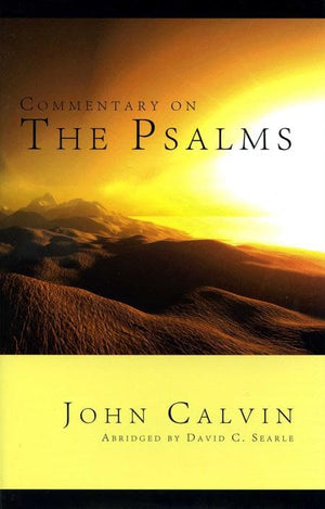 9781848710313-Commentary on the Psalms: Abridged-Calvin, John