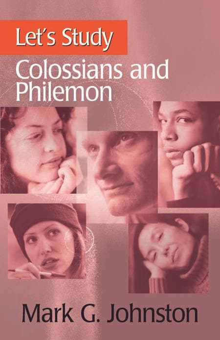 9781848712393-Let's Study Colossians and Philemon-Johnston, Mark