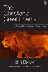 9781848713086-Christian's Great Enemy, The: A Practical Exposition of I Peter 5:8-11-Brown, John