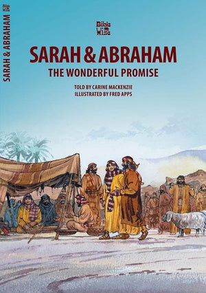 9781857921564-Bible Wise: Sarah and Abraham: The Wonderful Promise-Mackenzie, Carine