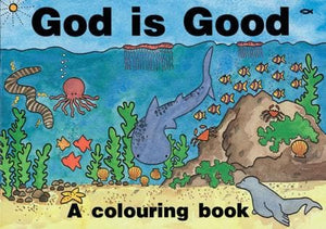 9781857921762-God Is Good (Colouring Book)-Scrimshire, Hazel