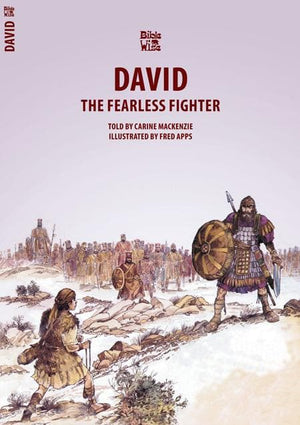 9781857921984-Bible Wise: David: The Fearless Fighter-Mackenzie, Carine