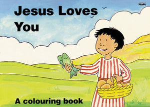 9781857923056-Jesus Loves You (Colouring Book)-Scrimshire, Hazel