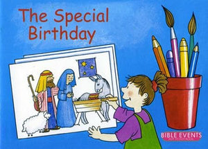9781857923070-Bible Events: Special Birthday, The (Dot to Dot Colouring Book)-Mackenzie, Carine