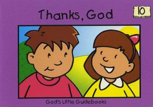 9781857923605-Thanks, God (God's Little Guidebooks)-Scrimshire, Hazel