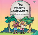 The Maker's Instructions: Helping Children to Explore and Understand the Ten Commandments by Knights-Johnson, Sarah (9781857923698) Reformers Bookshop