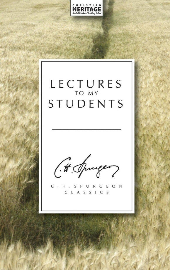 9781857924176 Letters to my Students - Charles Spurgeon