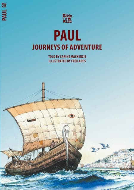 9781857924657-Bible Wise: Paul: Journeys of Adventure-Mackenzie, Carine
