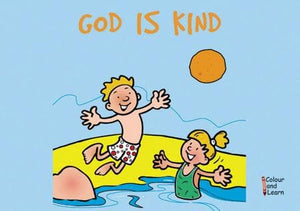 9781857926330-Colour and Learn: God is Kind-Mackenzie, Carine