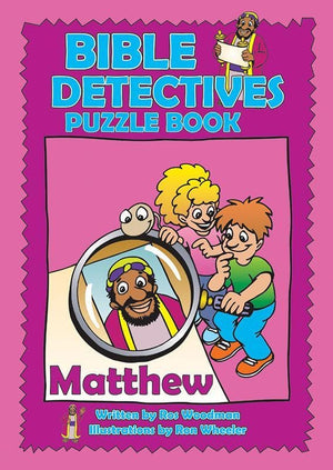 9781857926736-Bible Detectives Puzzle Book: Matthew-Woodman, Ros