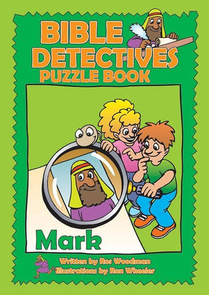 9781857926743-Bible Detectives Puzzle Book: Mark-Woodman, Ros