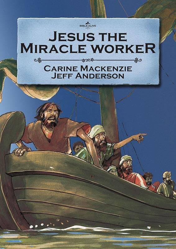 9781857927528-Bible Alive: Jesus the Miracle Worker-Mackenzie, Carine