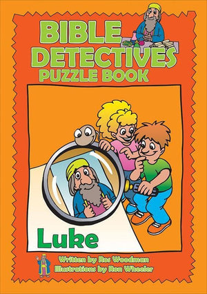 9781857927580-Bible Detectives Puzzle Book: Luke-Woodman, Ros