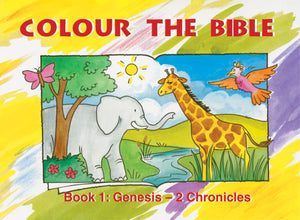 Colour the Bible Genesis to 2 Chronicles by Mackenzie, Carine (9781857927610) Reformers Bookshop