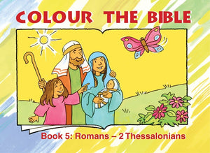 9781857927658-Colour the Bible Romans-Thessalonians-Mackenzie, Carine