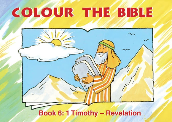 9781857927665-Colour the Bible Timothy-Revelation-Mackenzie, Carine
