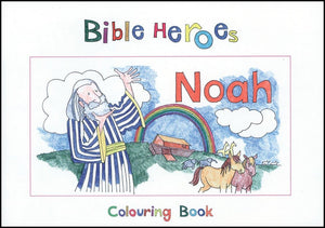 9781857928235-Bible Heroes: Noah (Colouring Book)-Mackenzie, Carine