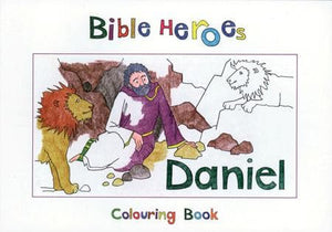 9781857928259-Bible Heroes: Daniel (Colouring Book)-Mackenzie, Carine