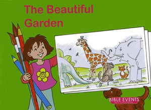 9781857928297-Bible Events: Beautiful Garden, The (Dot to Dot Colouring Book)-Mackenzie, Carine