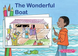 9781857928303-Bible Events: Wonderful Boat, The (Dot to Dot Colouring Book)-Mackenzie, Carine
